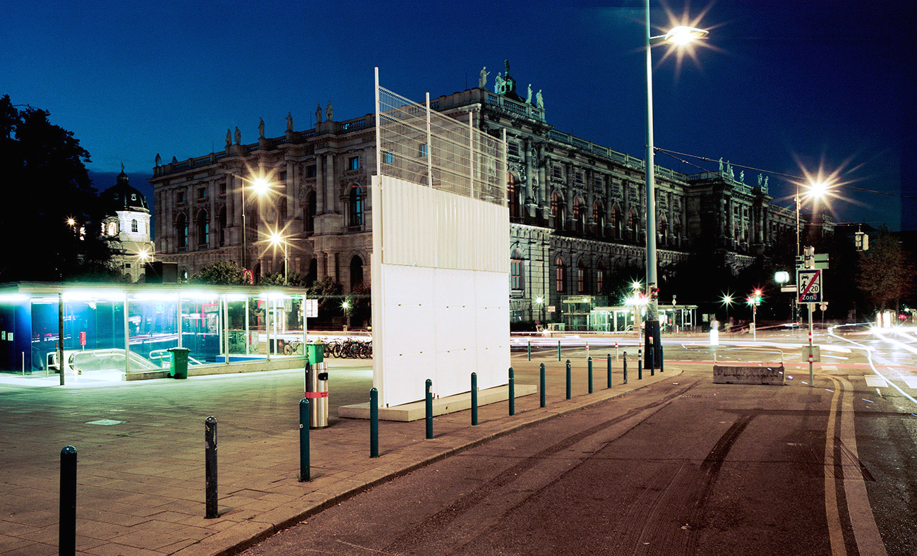 Largest Common Divider, Belfast Peace Line, Vienna, AT, 2014